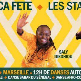 1er juillet 2017 – Stages de danse Africa Fête – Marseille
