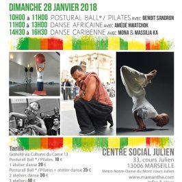 27 et 28 janvier 2018 – Ateliers Solidaires – Marseille