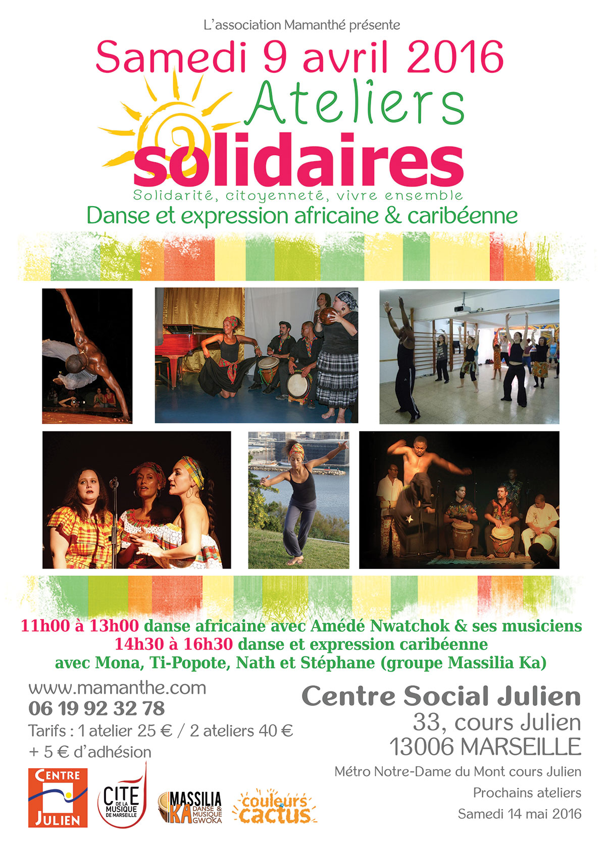 9 avril 2016 – Ateliers solidaires – Marseille