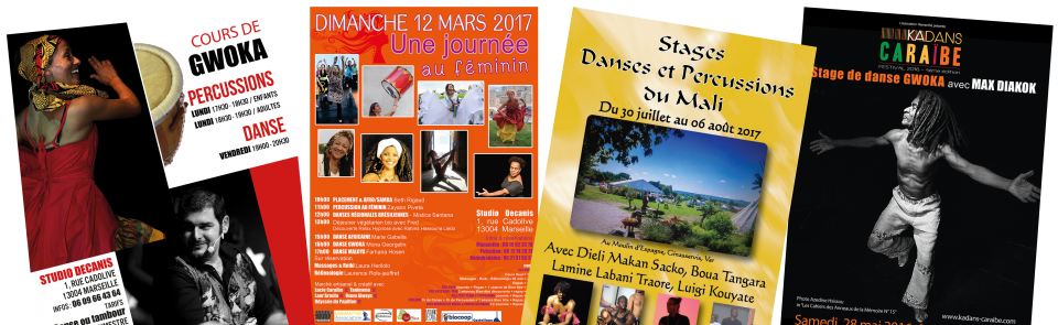 Stages de danse Africaine Marseille