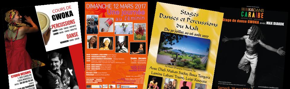 Stages de danse Africaine Marseille