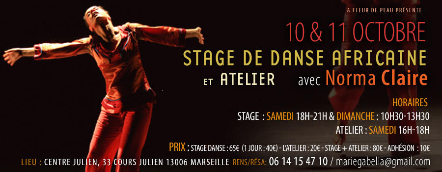 stage Norma Claire 10 et 11 Octobre