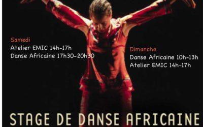 10 et 11 octobre 2021 – Stages de danse africaine avec Norma Claire