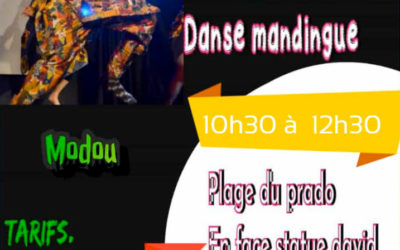 Samedi 12 juin 2021 – Stage de danse mandingue avec Modou