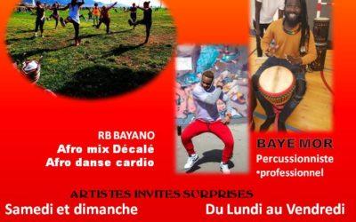 Du 10 au 16 juillet 2021 – stages de danse afro
