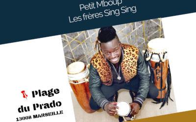 Samedi 7 août 2021 – Sabar avec Petit Mboup et les frères Sing Sing