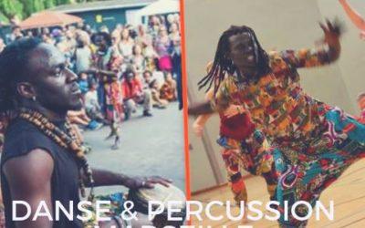 8 et 9 décembre 2018 – Danse et percussion SABAR