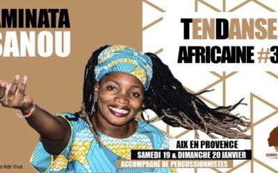 Samedi 19 et dimanche 20 janvier 2019 – Danse africaine avec Aminata Sanou