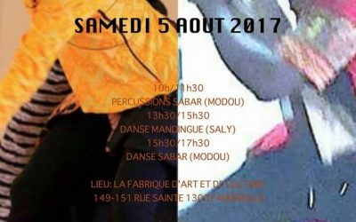 5 août 2017 – Stage Sabar et Mandingue