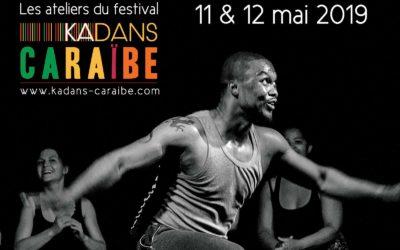 Samedi 11 et dimanche 12 mai 2019 – Stage de danses africaine et gwoka