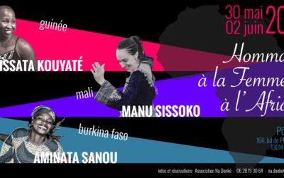 Du 30 mai au 2 juin 2019 – Hommage à la Femme et à l'Afrique