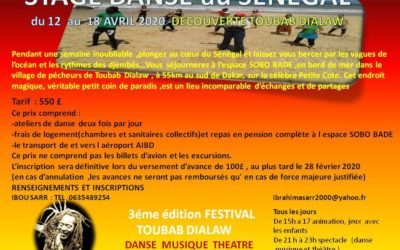 Du 12 au 18 avril 2020 – Voyage au Sénégal avec Ibou Sarr